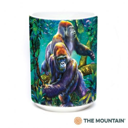 Gorilla Jungle Ceramic Mug | The Mountain®